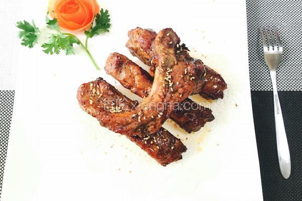 微波炉烤肉排