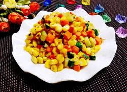 红萝卜炒玉米