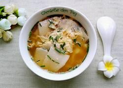 杏鲍菇蛋汤