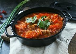 牛腩番茄汤