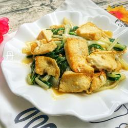 白菜烧豆腐的做法[图]