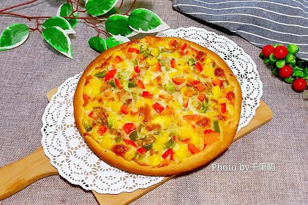 金枪鱼披萨