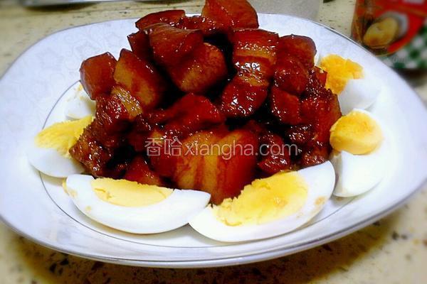 鸡蛋红烧肉