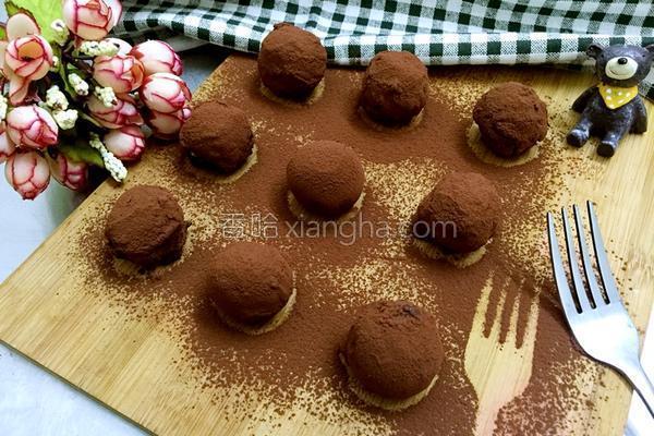 松露巧克力的做法