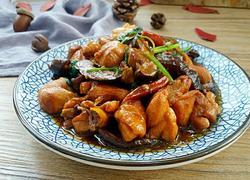 香菇炖鸡块