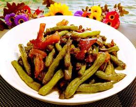 牛筋炒芸豆