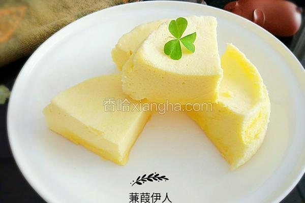 微波炉戚风蛋糕