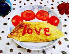 蛋包馒头炒饭