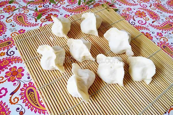 豆腐白菜水饺