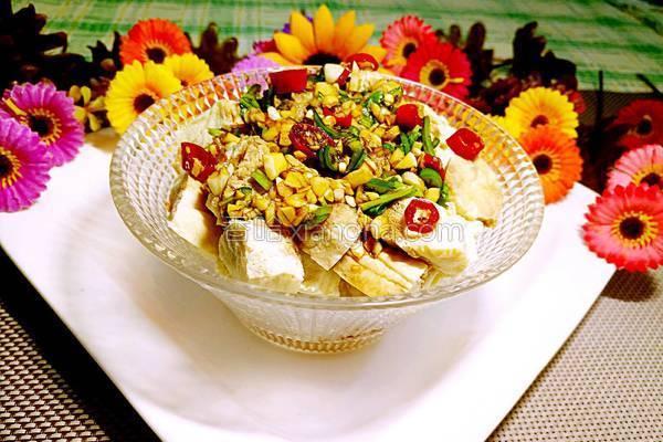 凉拌冻豆腐的做法