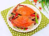 青红椒炒蟹的做法[图]