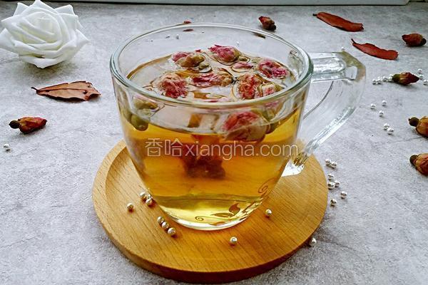 蜂蜜玫瑰花茶