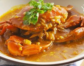 咖喱蟹[图]
