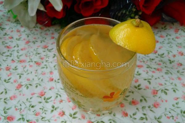 冰糖炖柠檬的做法