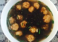 肉丸紫菜汤