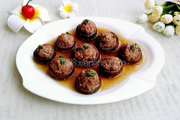 香菇蒸肉丸