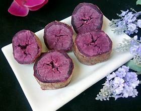 微波炉烤紫薯[图]