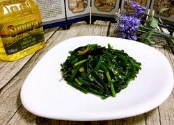 虾皮炒韭菜