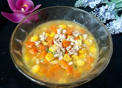 胡萝卜玉米瘦肉汤
