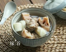 莲藕山药排骨汤[图]