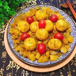 泰式咖喱鱼蛋