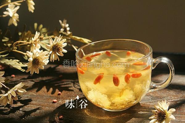 金银花菊花茶