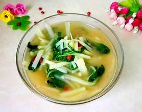土豆白菜汤