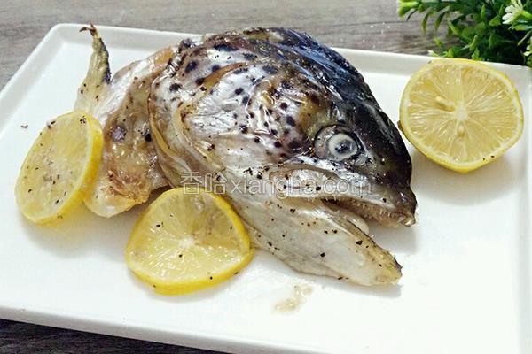 烤三文鱼头