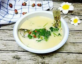 清炖鲈鱼汤