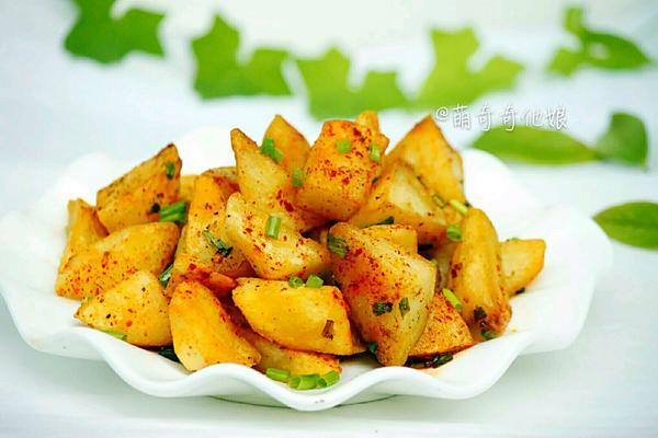 铁板孜然土豆块