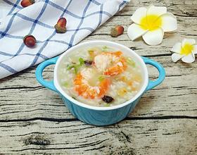 干贝鲜虾海鲜粥