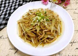 肉炒白菜丝