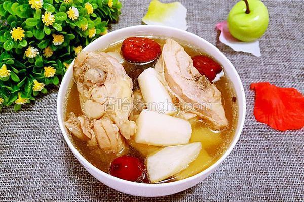 山药红枣鸡汤