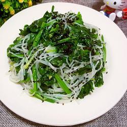 芝麻拌菠菜的做法[图]