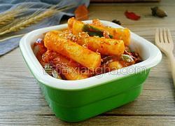 韩国辣白菜炒年糕