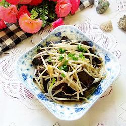 猪血炒豆芽的做法[图]