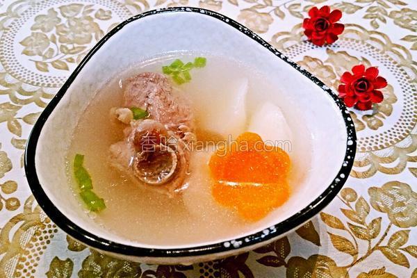 茭白排骨汤的做法