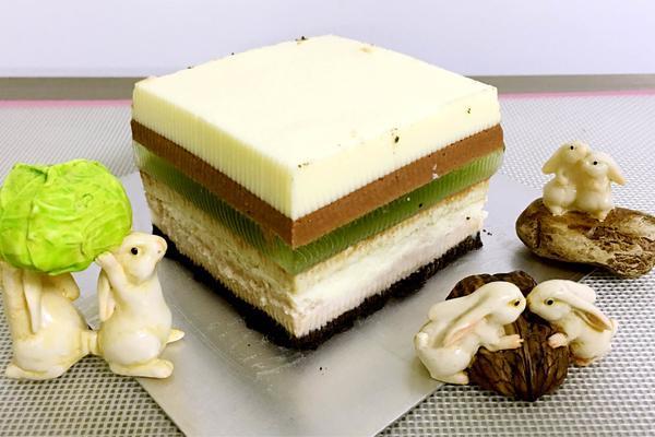 彩虹芝士蛋糕
