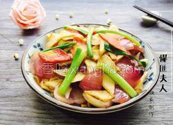 洋葱炒杏鲍菇