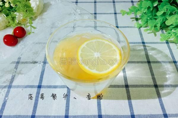 柚子蜂蜜茶的做法