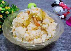 青椒榨菜肉煲仔饭