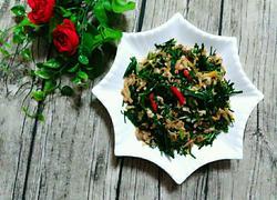 蛤蜊炒韭菜