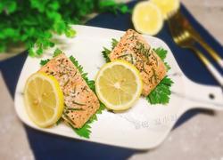 柠檬三文鱼