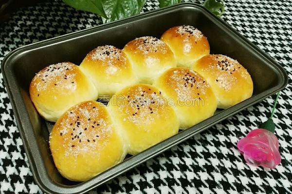 松软小面包的做法
