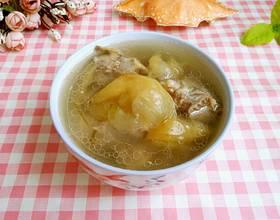 青苹果芦荟猪脊骨汤