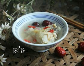 花旗参红枣炖鸡汤[图]