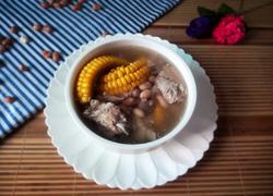 花生玉米排骨汤