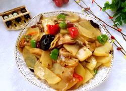 榛蘑炒土豆片
