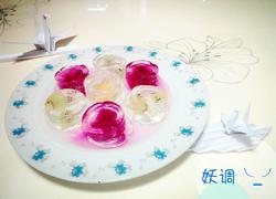 凉粉水果冻