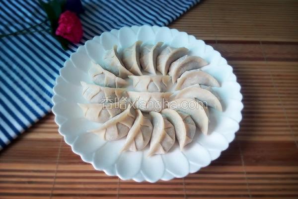 香菇白菜猪肉饺子